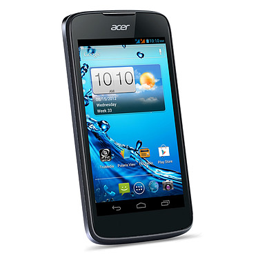 "Acer Liquid Gallant Duo E350 Deep Black Smartphone 3G+ Dual Sim avec écran tactile 4.3"" sous Android 4.0"