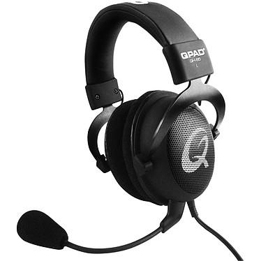 QPAD QH-85 (noir) Casque-micro Circum-auriculaire ouvert pour gamer