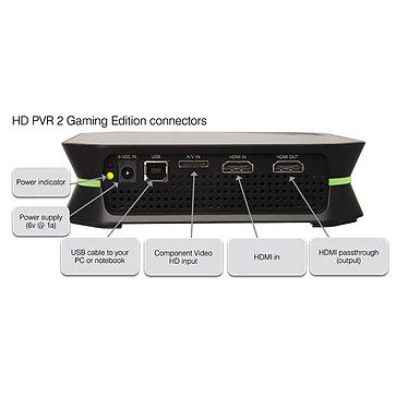 Acheter Hauppauge HD PVR 2 Gaming Edition (version HDMI) + Call Of Duty Black Ops 2 (PS3)