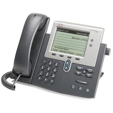 Cisco 7942G Téléphone 1 ligne pour VoIP PoE