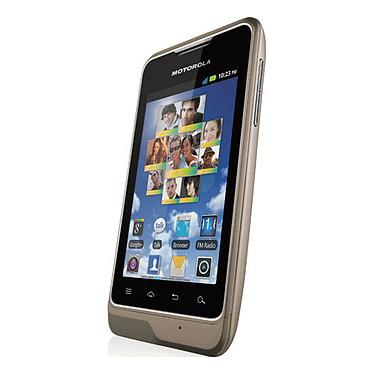 """Motorola MOTOSMART Champagne Smartphone 3G+ avec écran tactile 3.5"""" sous Android 2.3"""
