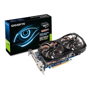 Gigabyte GeForce GTX 660 GV-N660OC-2GD 2048 Mo Dual DVI/HDMI/DisplayPort - PCI Express (NVIDIA GeForce avec CUDA GTX 660)