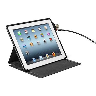 Kensington Folio SecureBack + Clicksafe (Nouvel iPad) Étui de sécurité pour Nouvel iPad transformable en support 2 positions + verrou de sécurité
