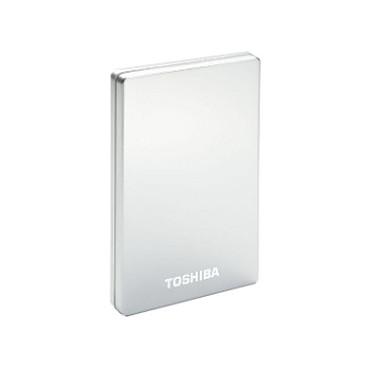 """Toshiba Stor.e Alu 2S 500 Go Argent Disque dur externe 2""""1/2 USB 3.0"""