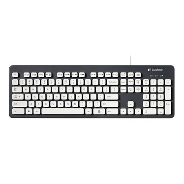 Logitech Washable Keyboard K310 Clavier filaire lavable (AZERTY, Français)