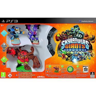 Skylanders Giants - Starter Pack (PS3) Skylanders Giant + Portal of Power + 3 figurines