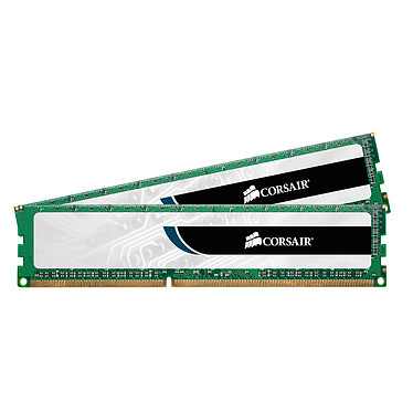 Corsair Value Select 16 Go (2x 8 Go) DDR3 1600 MHz CL11 Kit Dual Channel RAM DDR3 PC12800 - CMV16GX3M2A1600C11 (Garantie à vie par Corsair)