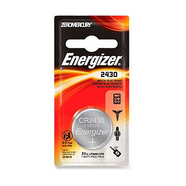 "Energizer Pile ""bouton"" CR2430 Energizer Pile ""bouton"" CR2430"