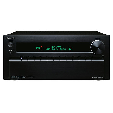 Onkyo TX-NR3010 Noir Ampli-tuner Home Cinéma 9.2 THX Ultra2 Plus DLNA avec HDMI 1.4 et Décodeurs HD - Traitement vidéo HQV et Qdeo