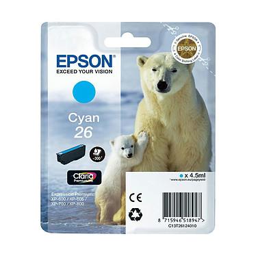 Epson T2612 Cartouche d'encre cyan  (300 pages à 5%)