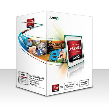 AMD A4-4000 (3.0 GHz) Processeur Dual Core socket FM2 Cache L2 1 Mo Radeon HD 7480D 0.032 micron (version boîte - garantie constructeur 3 ans)