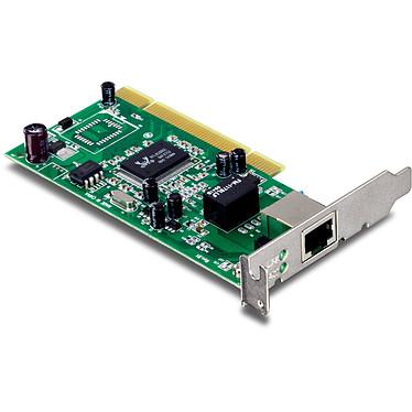 TRENDnet TEG-PCITXRL Carte réseau PCI Gigabit LAN 10/100/1000 Mbps
