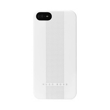 Hugo Boss Dots pour iPhone 5 Blanc