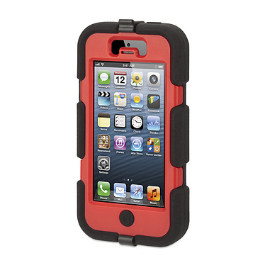 Griffin Survivor Noir / Rouge iPhone 5