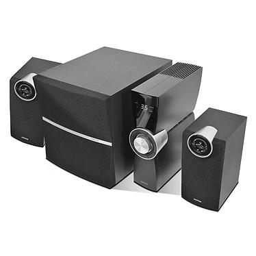 Edifier C2X analógicos Kit de altavoces 2.1 con amplificador externo y mando a distancia inalámbrico