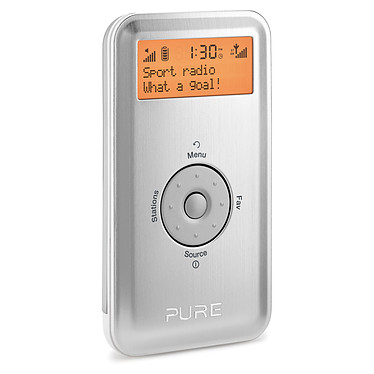 Pure Move 2500 Argent Radio FM portable FM / RNT
