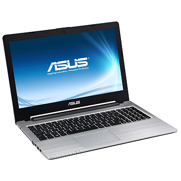 "ASUS S56CM-XX240P Slim Intel Core i7-3537U 4 Go SSD 24 Go + HDD 500 Go 15.6"" LED NVIDIA GeForce GT 635M Graveur DVD Wi-Fi N/Bluetooth Webcam Windows 8 Pro 64 bits (garantie constructeur 2 ans)"
