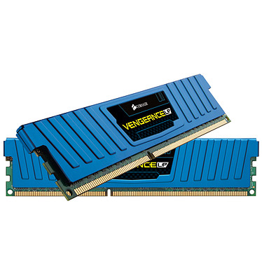 Corsair Vengeance Low Profile Series 16 Go (2x 8 Go) DDR3 1600 MHz CL10 Bleu