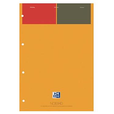 Oxford Notepad A4 Réglure Arrêtée Lignée 6 mm 80 pages