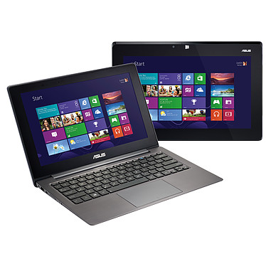 "ASUS TAICHI31-CX010P Intel Core i7-3517U 4 Go SSD 256 Go 13.3"" LED tactile + 13.3"" LED Wi-Fi N/Bluetooth Webcam Windows 8 Professionnel 64 bits (garantie constructeur 2 ans)"