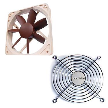 Noctua NF-S12B FLX + Grille de ventilateur 120mm Ventilateur 120 mm 1200 RPM + Grille de ventilateur 120mm