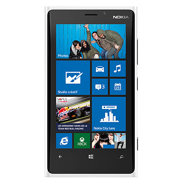 """Nokia Lumia 920 Blanc Smartphone 4G-LTE avec écran tactile 4.5"""" PureMotion HD+ sous Windows Phone 8"""