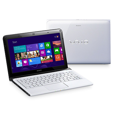 Sony VAIO E1112M1EW Blanc
