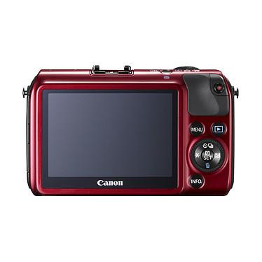 Canon EOS M Rouge + Objectif EF-M 18-55 mm f/3,5-5,6 IS STM + Speedlite 90EX pas cher