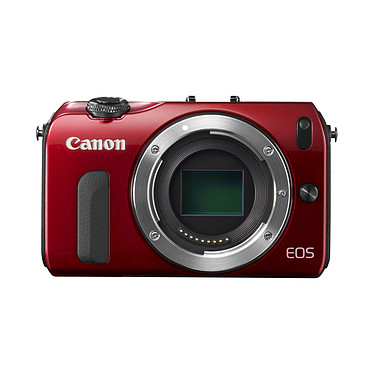Acheter Canon EOS M Rouge + Objectif EF-M 18-55 mm f/3,5-5,6 IS STM + Speedlite 90EX