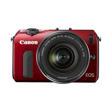 Avis Canon EOS M Rouge + Objectif EF-M 18-55 mm f/3,5-5,6 IS STM + Speedlite 90EX