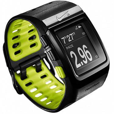 TomTom Montre Nike+ SportWatch Noir/Vert Montre GPS running avec capteur Nike+