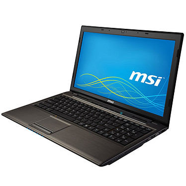 "MSI CR61 2M-287XFR + 2 Go RAM SO-DIMM DDR3 offert* Intel Celeron 2950M 4 Go 500 Go 15.6"" LED Graveur DVD Wi-Fi N/Bluetooth Webcam FreeDOS (garantie constructeur 1 an)"