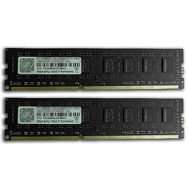 G.Skill NS Series 8 Go (2 x 4 Go) DDR3 1333 MHz CL9 Kit Dual Channel DDR3 PC3-10600 - F3-1333C9D-8GNS