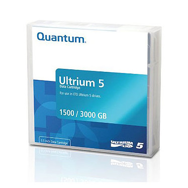 Quantum LTO-5 Bande de sauvegarde LTO-5 Ultrium 1.5 To