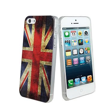 Muvit Coque Drapeau UK Vintage pour iPhone 5 Coque pour iPhone 5