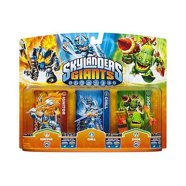 Figurine Skylanders Giants Chill + Zook + Ignitor