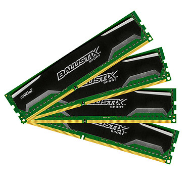 Ballistix Sport 32 Go (4 x 8 Go) DDR3 1600 MHz CL9