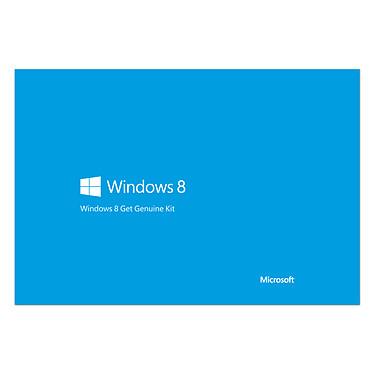 Microsoft Windows 8 OEM 64 bits Get Genuine Kit