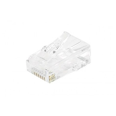 Conectores RJ45 categoría 5e UTP (par 10)