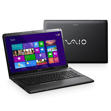 "Sony VAIO E1712S1E Intel Core i5-3210M 6 Go 750 Go 17.3"" LED AMD Radeon HD 7650M Graveur DVD Wi-Fi N/Bluetooth Webcam Windows 8 64 bits"