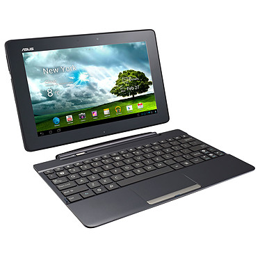 "ASUS Transformer Pad TF300T-1E011A Noir + dock mobile Tablette Internet - NVIDIA Tegra 3 T30L 1 Go SSD 16 Go 10.1"" LED Tactile Wi-Fi N/Bluetooth Webcam Android 4.1"