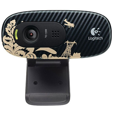 Logitech HD Webcam C270 (Victorian Wallpaper)