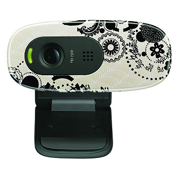 Logitech HD Webcam C270 (Ink Gears)
