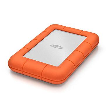 LaCie Rugged Mini 5Tb (USB 3.0) Unidad de disco duro externa a prueba de golpes de 2,5 pulgadas en puertos USB 3.0 (2 años de garantía del fabricante)