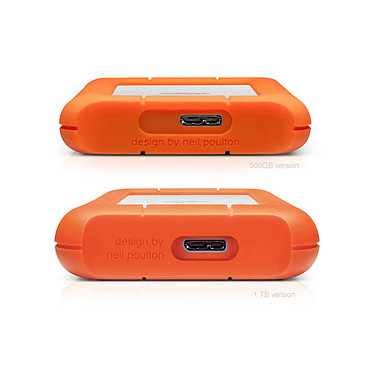 LaCie Rugged Mini 500 Go (USB 3.0) pas cher