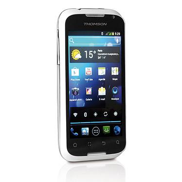 """Thomson X-Link TH-1127M Blanc Smartphone 3G+ Dual Sim avec écran tactile 4.0"""" sous Android 4.0"""