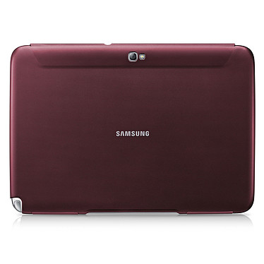 Samsung Book Cover Rouge (pour Samsung Galaxy Tab 2 10.1) Etui de protection pour Galaxy Tab 2 10.1