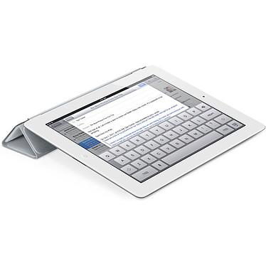 Apple iPad Smart Cover Polyuréthane Gris Clair pas cher