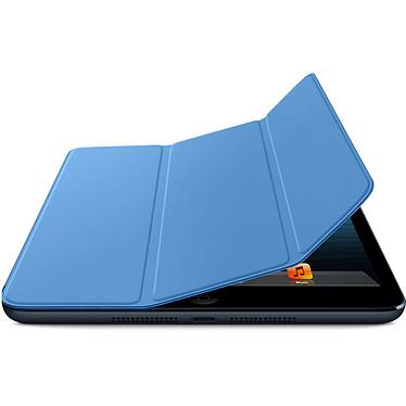 Avis Apple iPad mini Smart Cover Polyuréthane Bleu