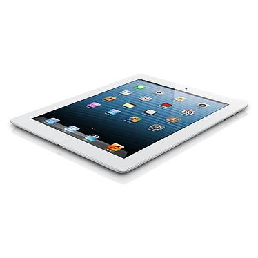 Apple iPad avec écran Retina Wi-Fi + Cellular 128 Go Blanc